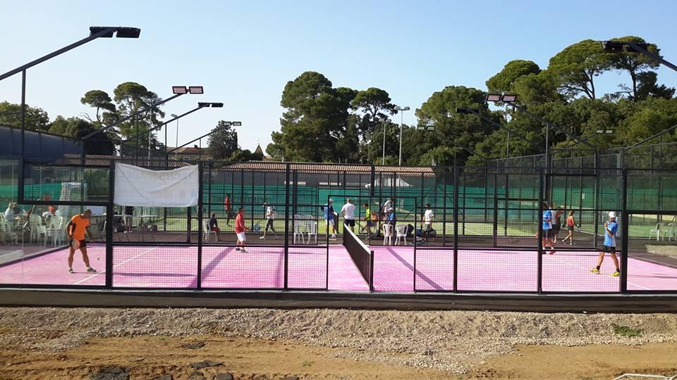 Inaugurazione di padel del Tennis Club de la Vière