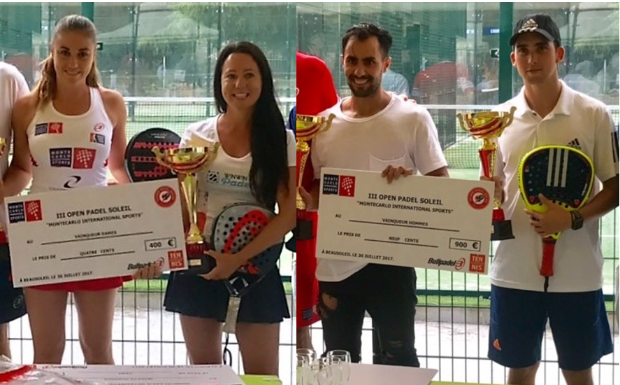 The MCIS Open won by Clergue / Casanova and Ferreira / Suescun