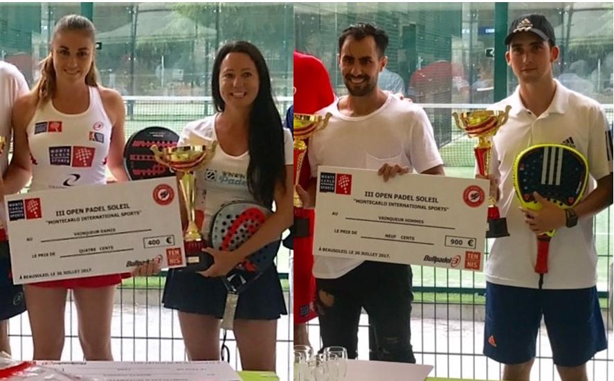 L'Open du MCIS remporté par Clergue / Casanova et Ferreira / Suescun