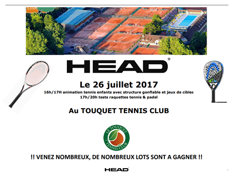 Animació Head Padel a Le Touquet