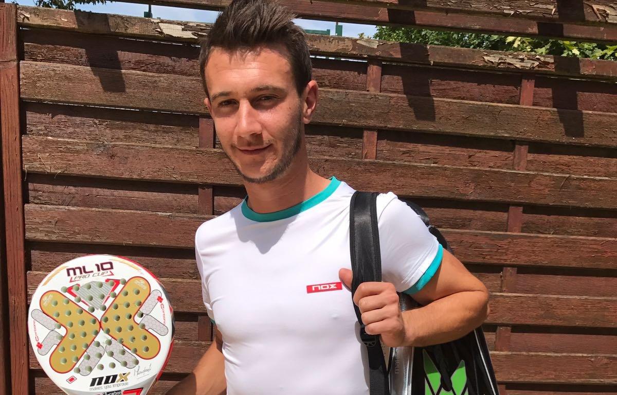 Laurent Boulade, le 1er joueur français chez NOX PADEL