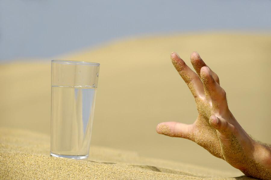 ¿Qué beber cuando está deshidratado?