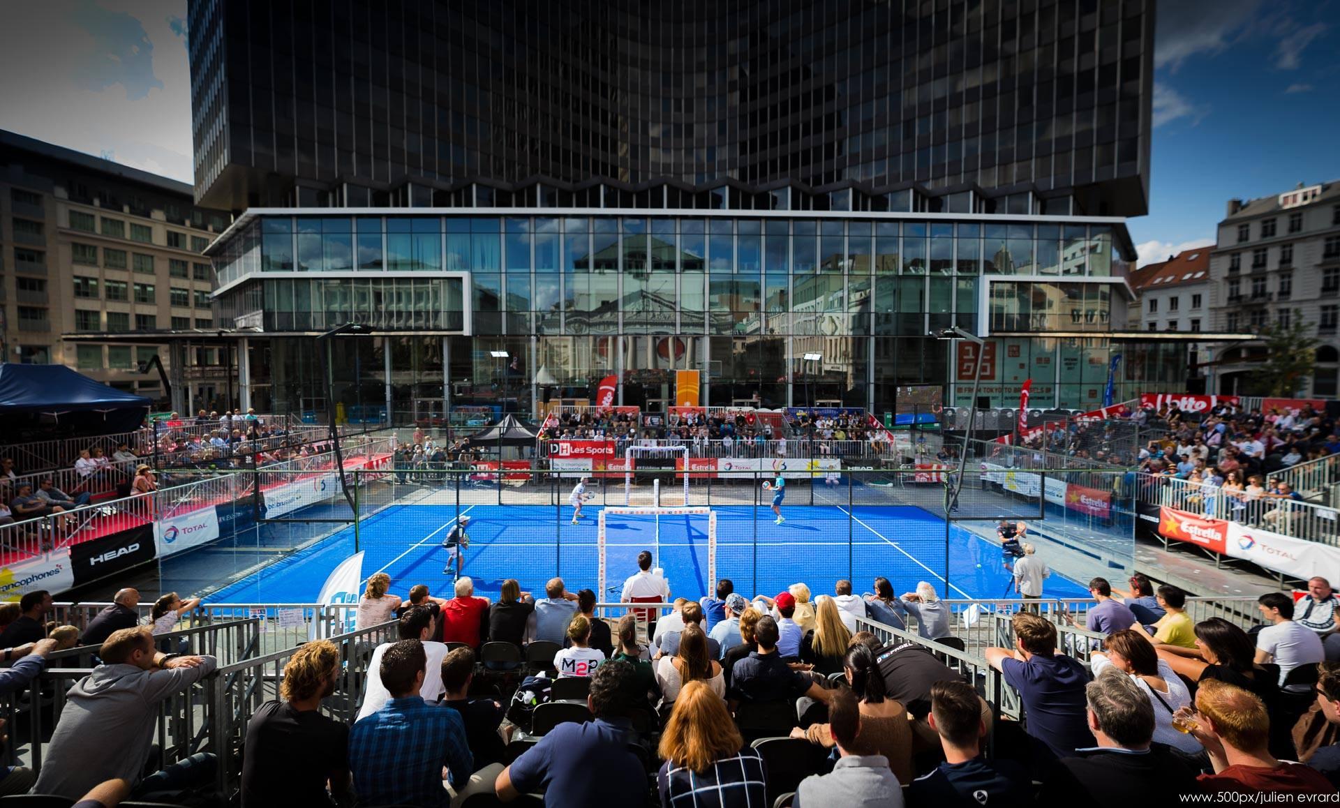 Le World Padel Tour Bruxelles des yeux de Julien Evrard : Magnifique