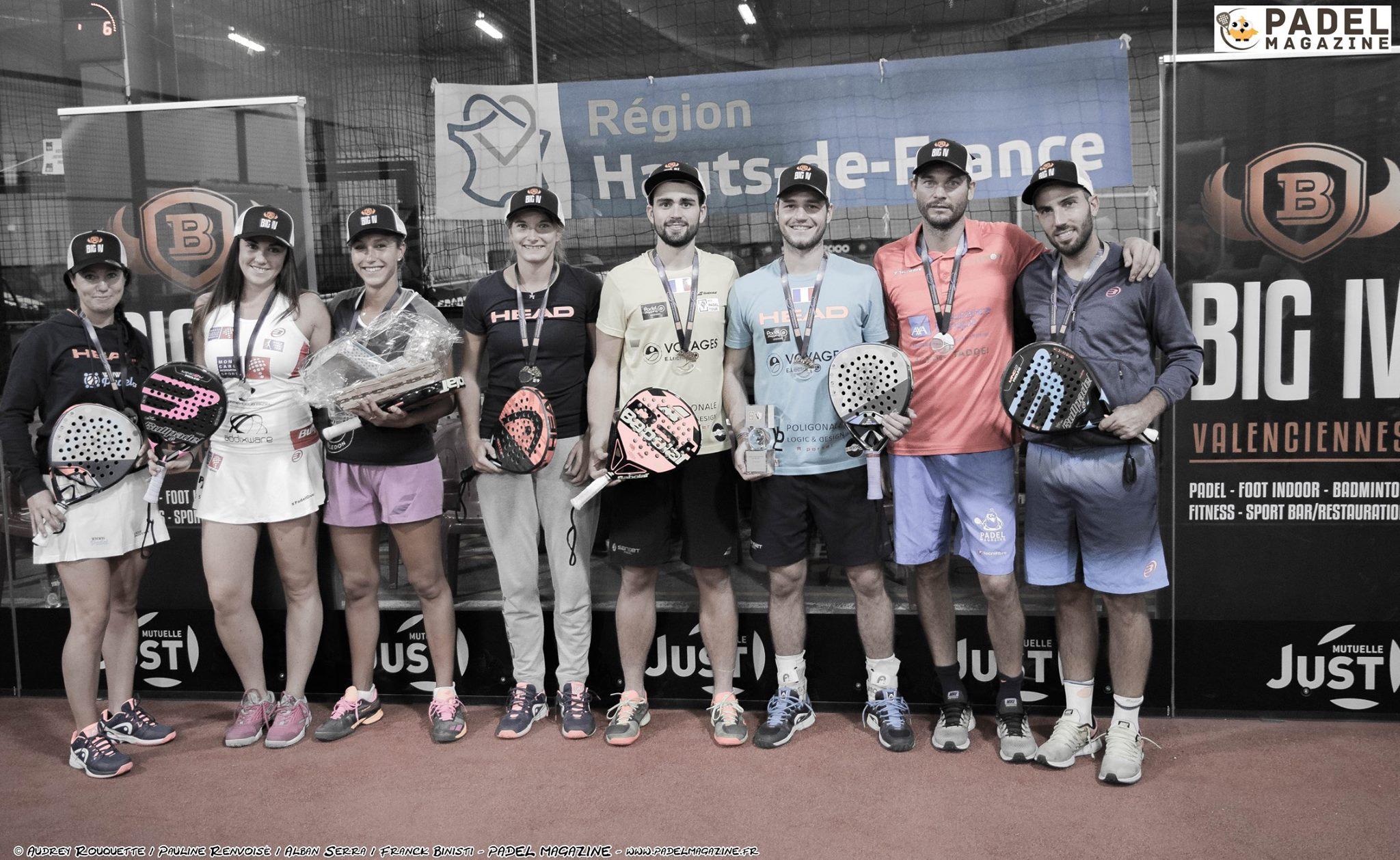 Liste des sélectionnés pour les championnats d'Europe de padel