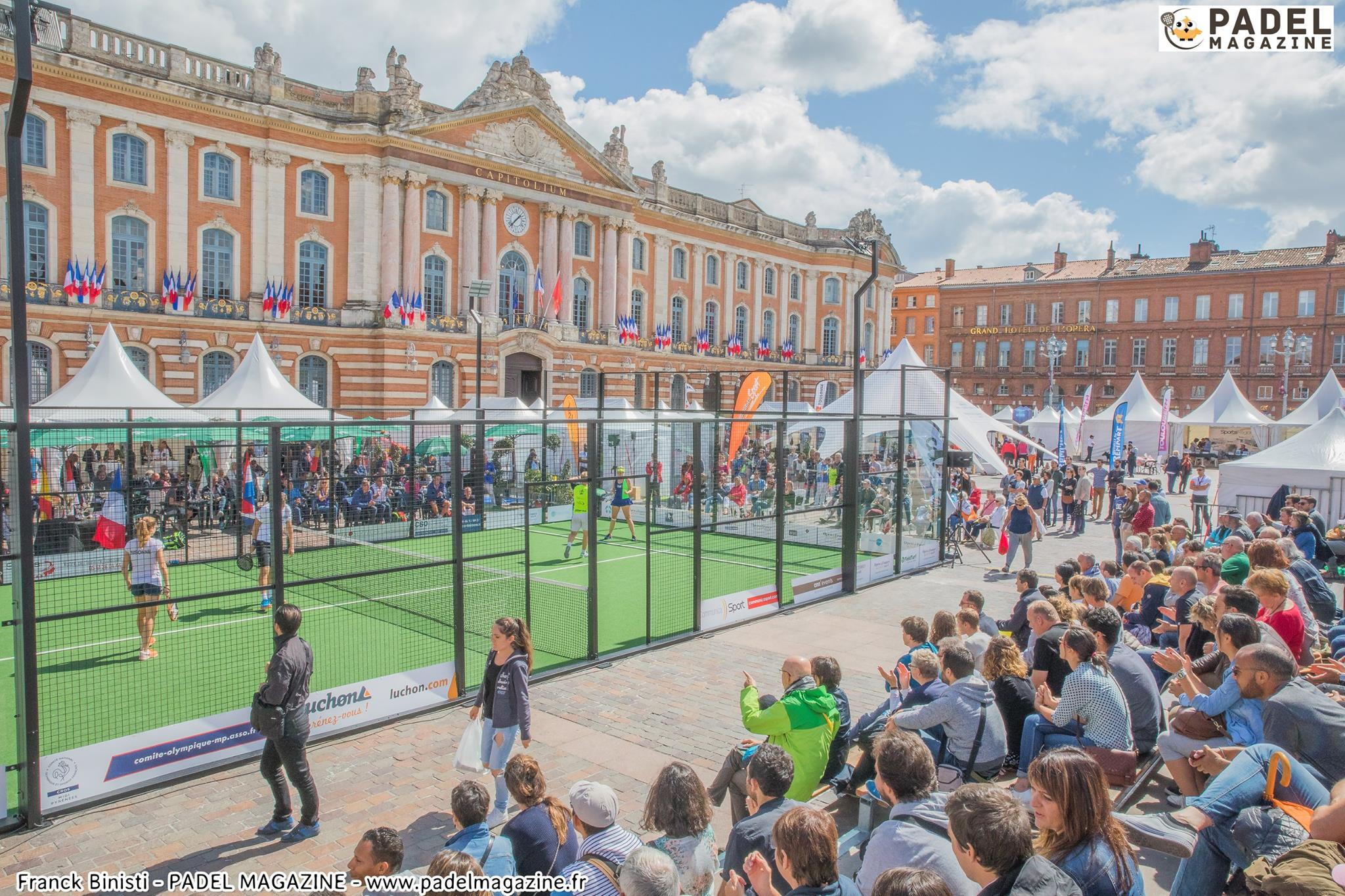 Open de France de Padel 2018 Citius, Altius, Fortius