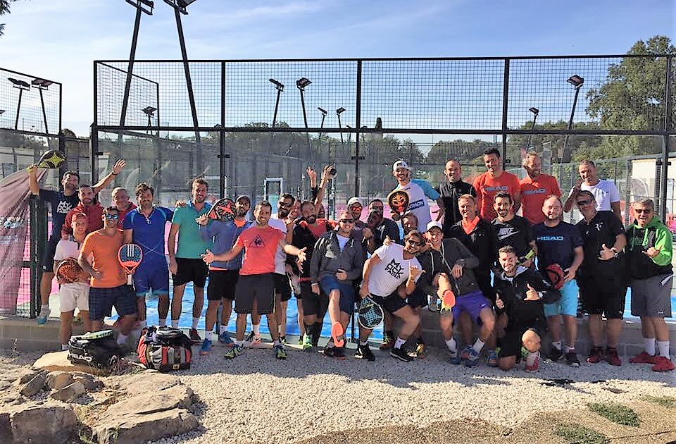 Le padel, a very attractive sport for amateur practice