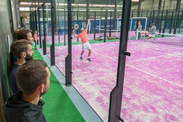 Dijon job offer Padel