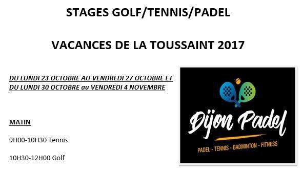 Stages de padel à Dijon Padel