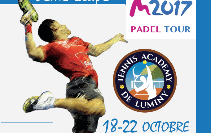 TC Luminy hosts a stage of M2017 Padel Take the Tour