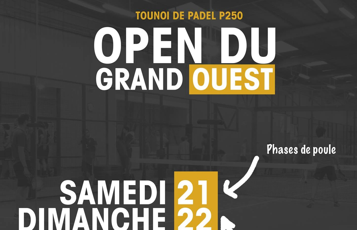 The Open padel of the Great West ready!