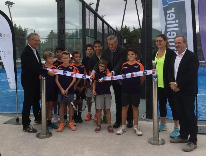 ASPTT Montpellier inaugurates its 2 padel