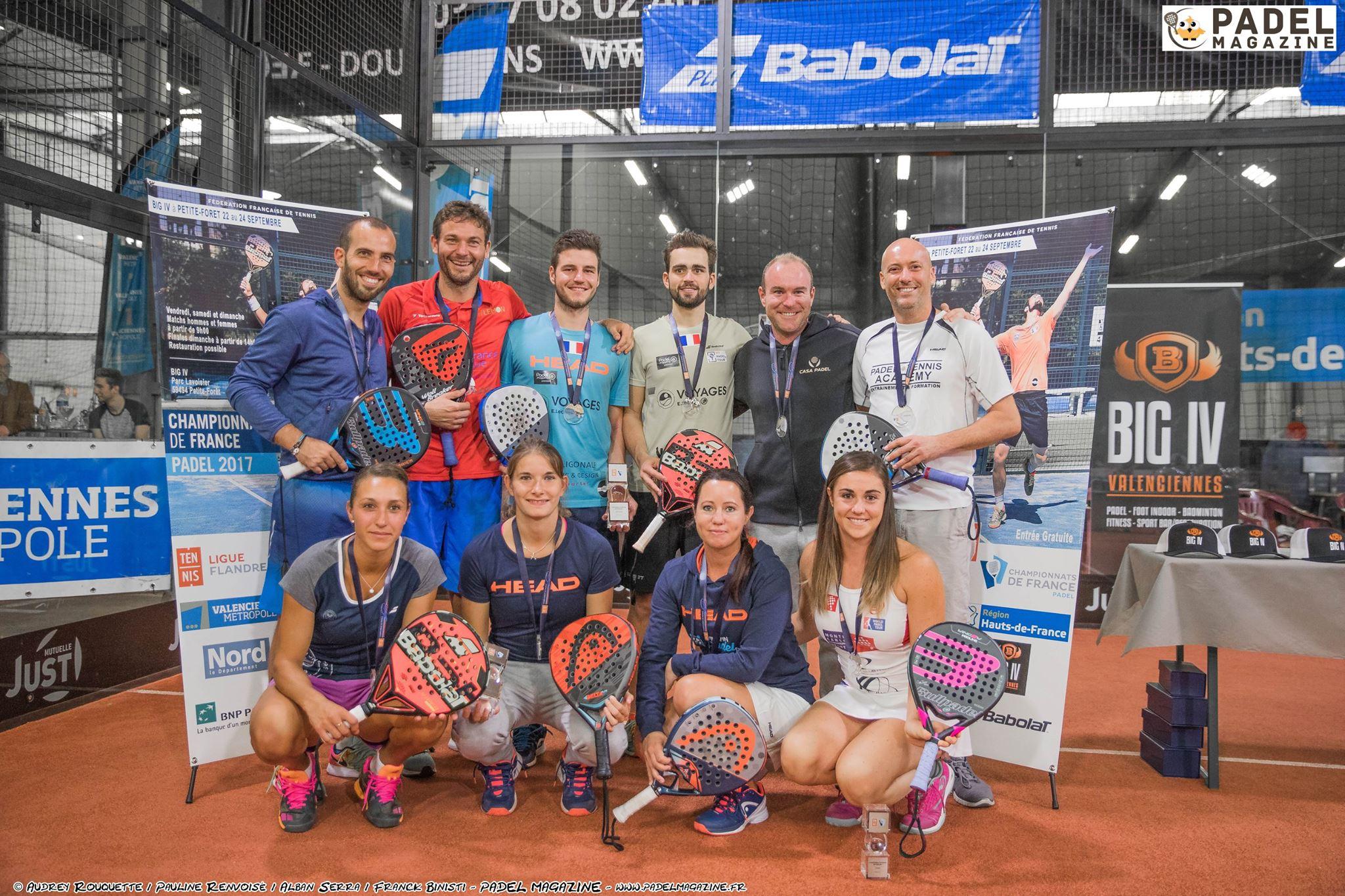De gros Championnats d'Europe de padel 2017 !