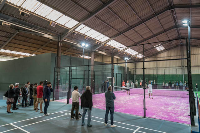 Longin / Andre qualified for the National Padel Cup