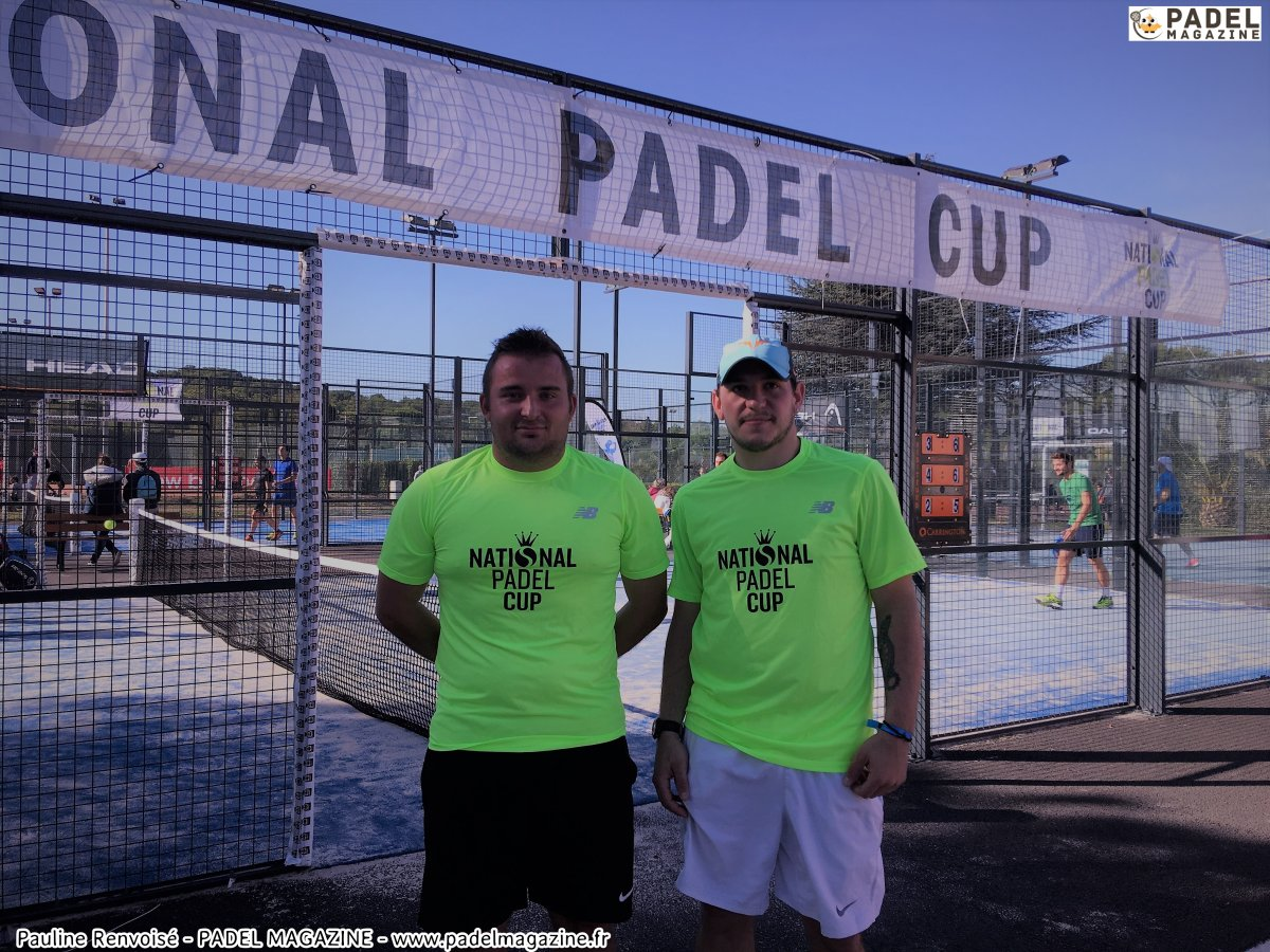 Tableaux de la National Padel Cup 2017