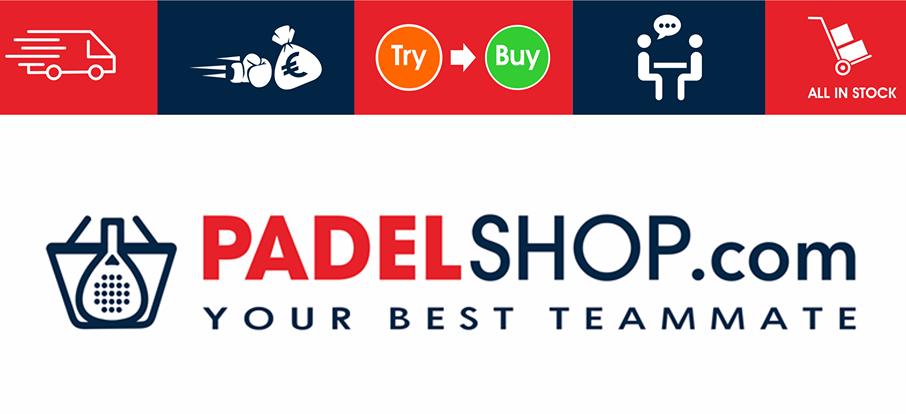 Bannière Padel Shop