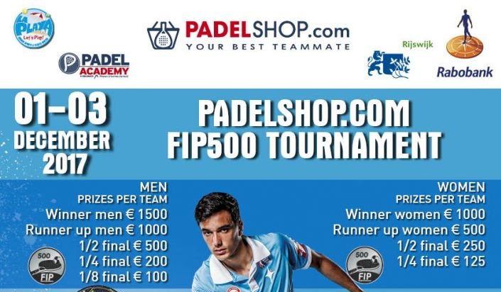Top départ de l'Open PadelShop.com – FIP 500