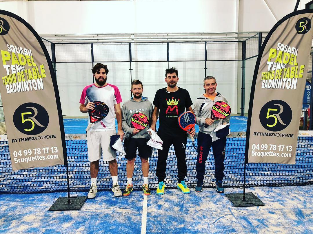 Pellicer / Salines wygrywa Open 5 Racquets