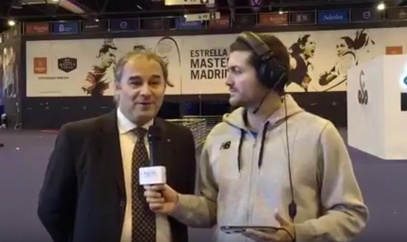 """Daniel Patti : """"Le mondial de padel au Paraguay"""""""