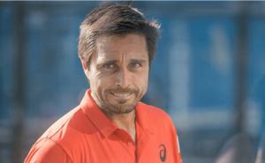 Fernando Belasteguin smorfia infortunio delusione