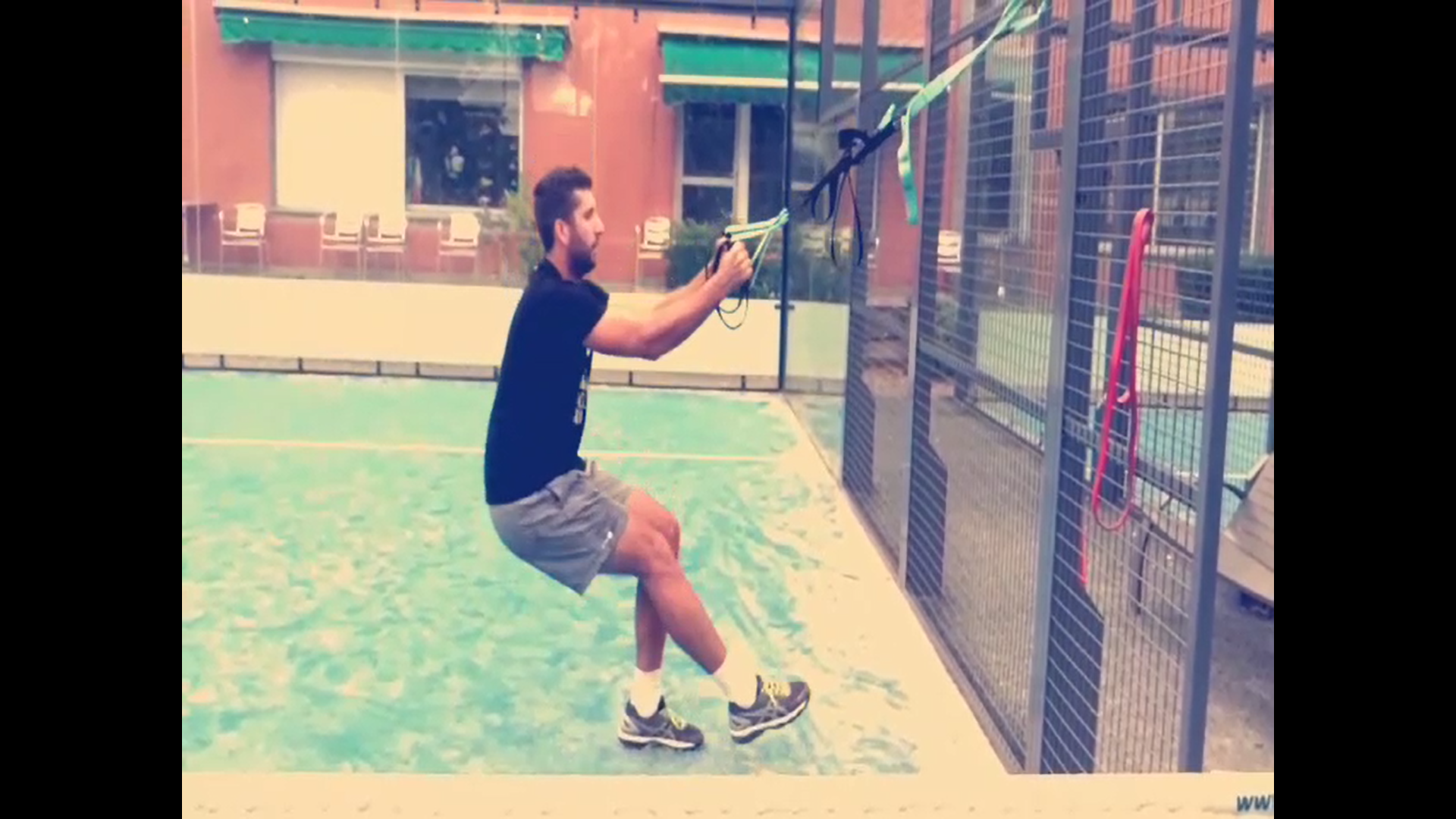 """""""Better play padel and longer """""""