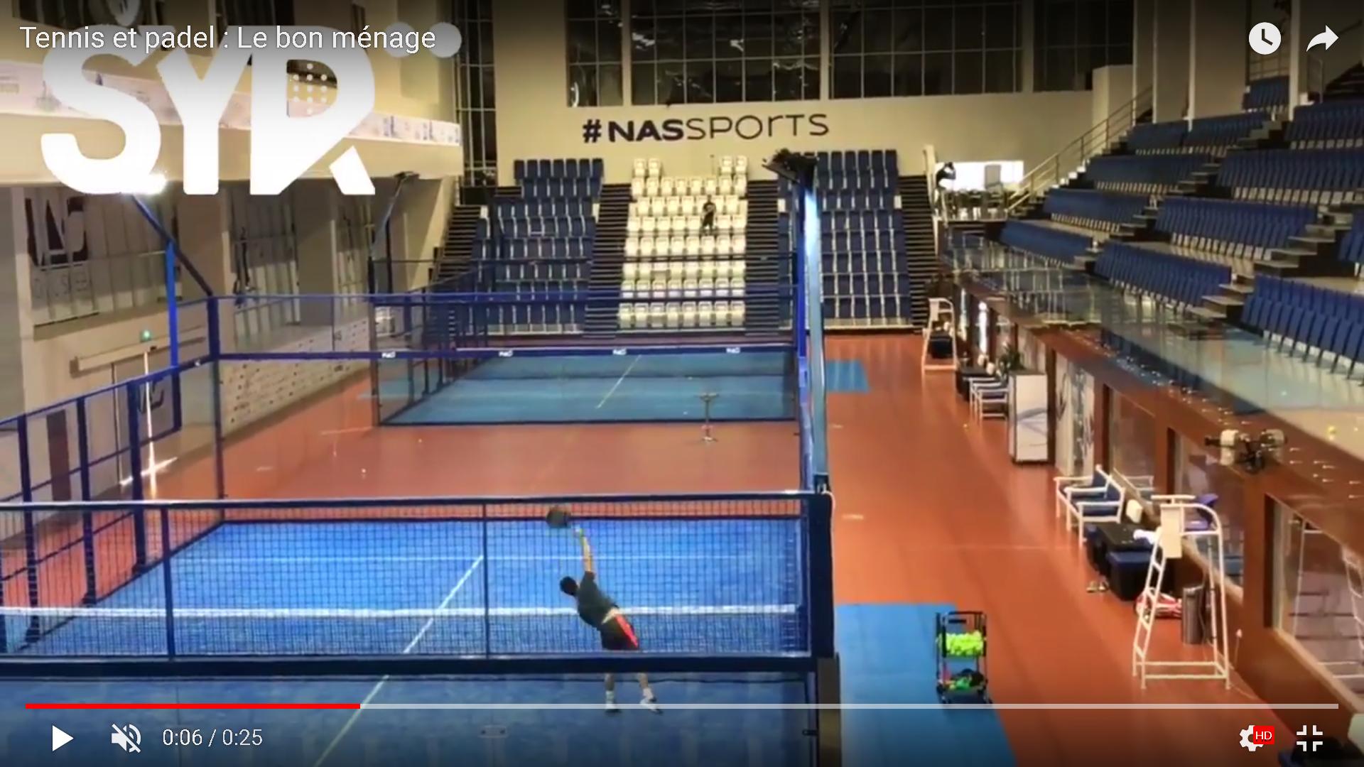 Tennis et padel : le bon ménage