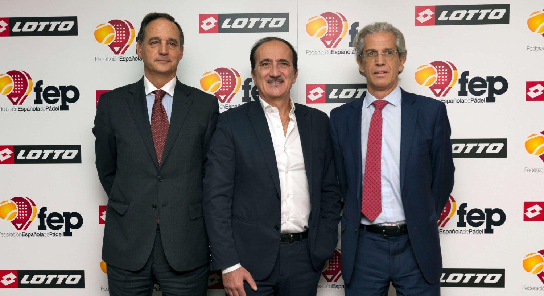LOTTO habille La padel team Italie et Espagne