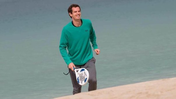 Andy Murray parie sur le padel