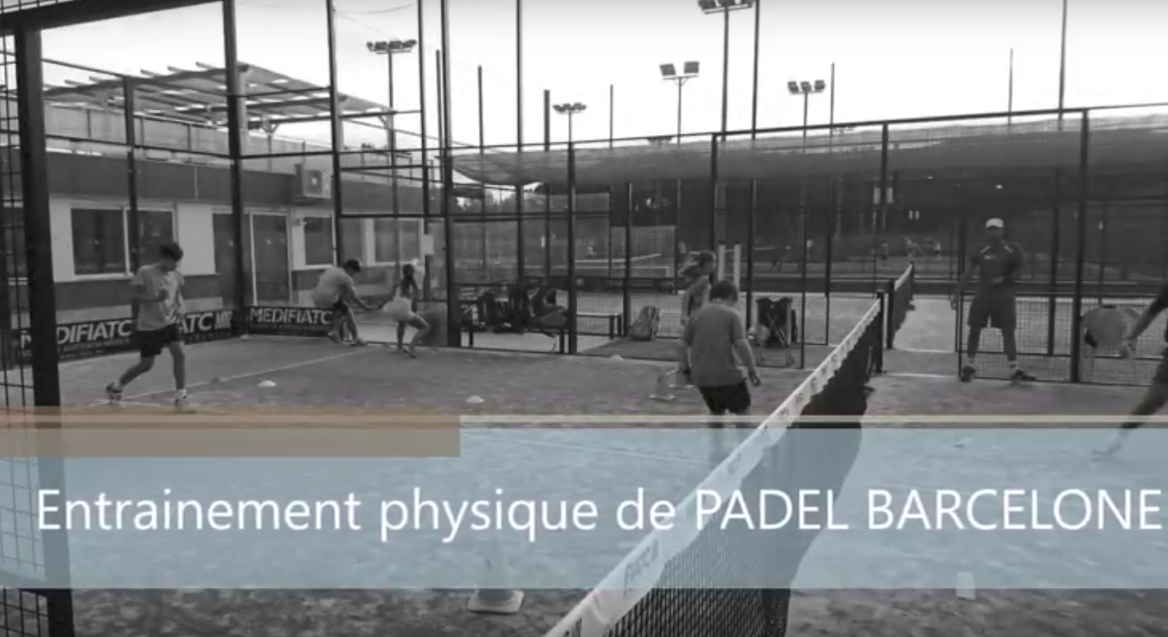 Travailler son physique – Stage Padel Barcelone