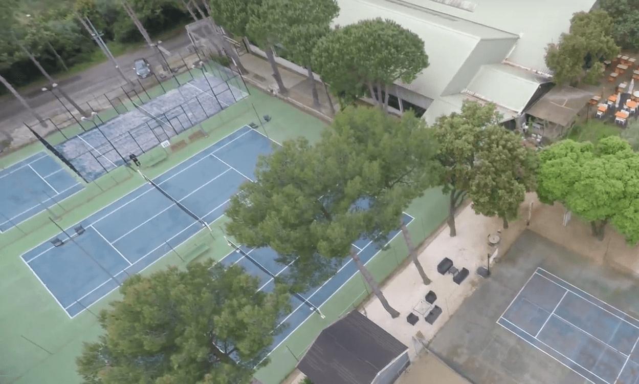 Tennis Forever: En klub af padel næsten unik i Frankrig