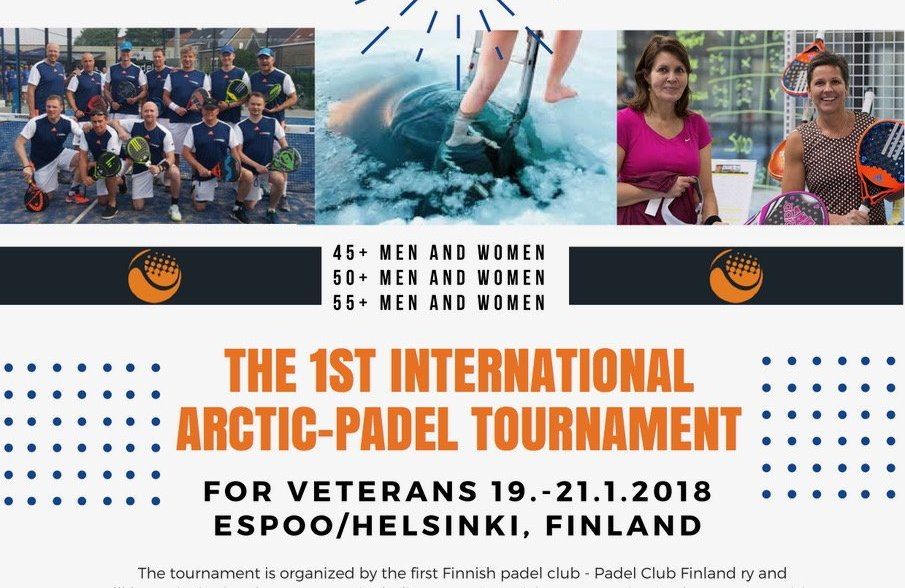 1er tournoi international de padel en Finlande