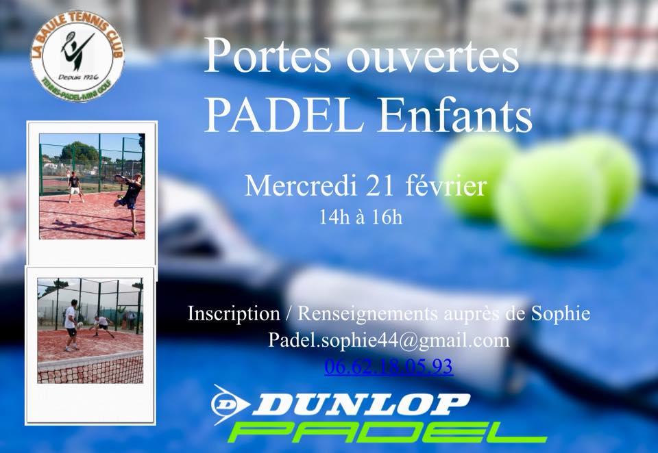 Portes ouvertes padel à La Baule Tennis Club