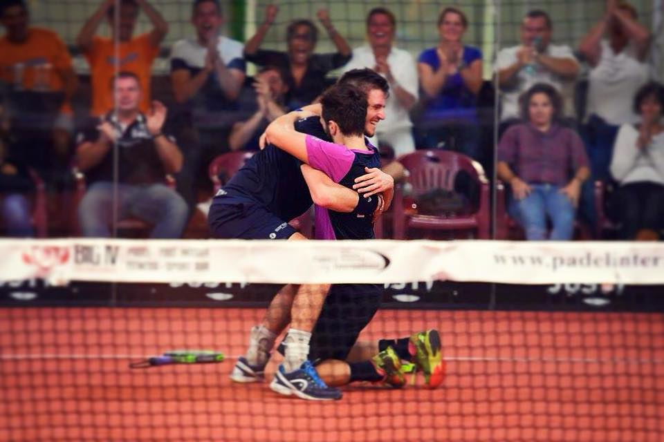 Bergeron / Blanqué in pre-stagione padel