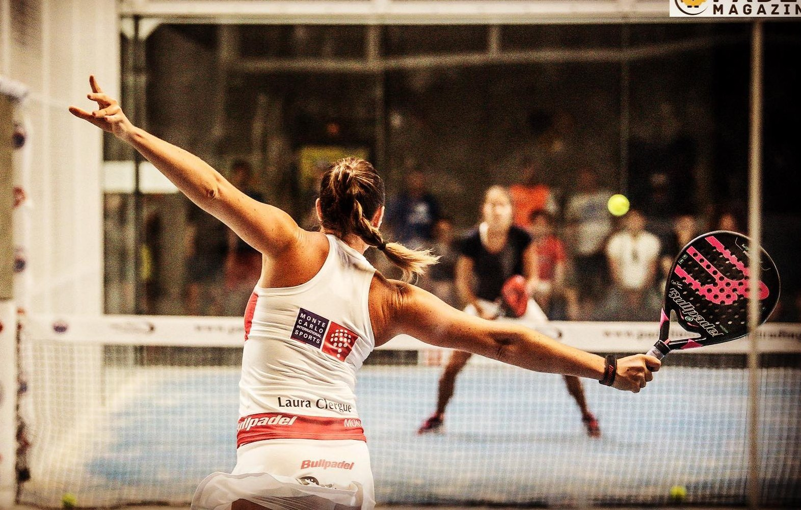Laura Clergue : La meilleure progression 2017 au World Padel Tour