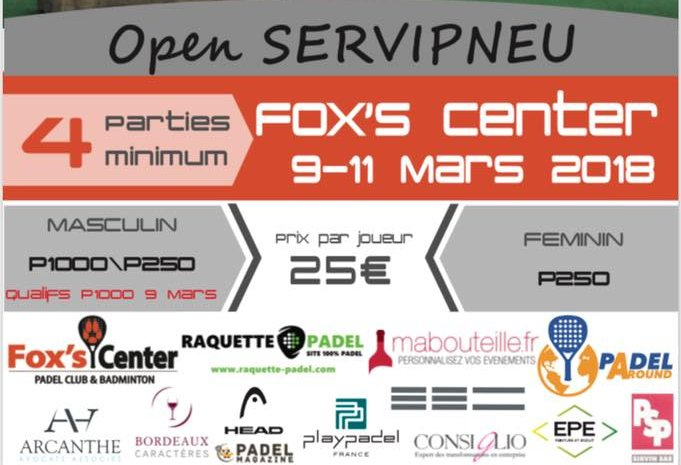 Da pesante a Padel Fox's Center Infinity