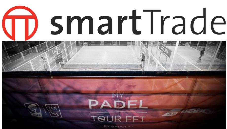 smartTrade partenaire officiel du circuit My Padel Tour