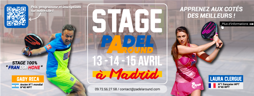 Stage in Padel - Padel AROUND