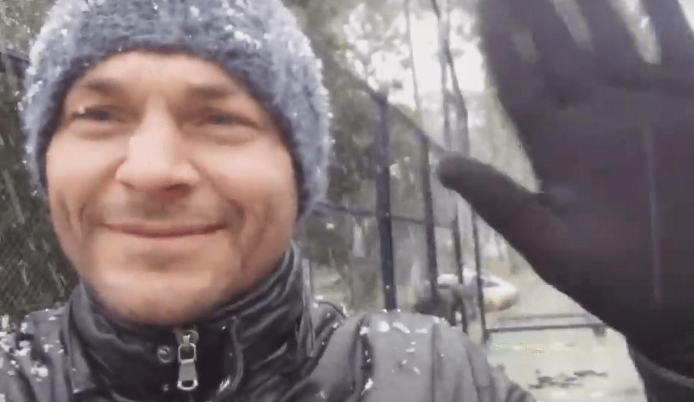 Jérémy Scatena / Technopadel sotto la neve
