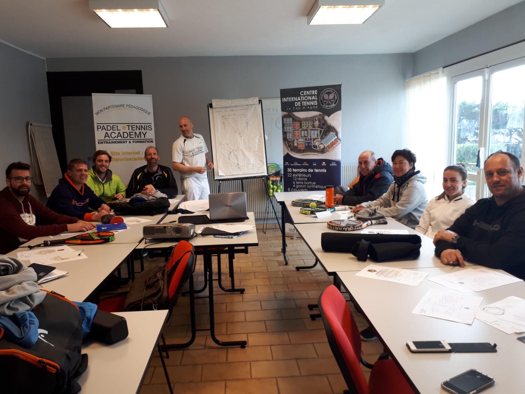 Szkolenie Padel dla CIT of Cap d'Agde