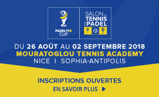 Bannière Tennispro Cup 2018