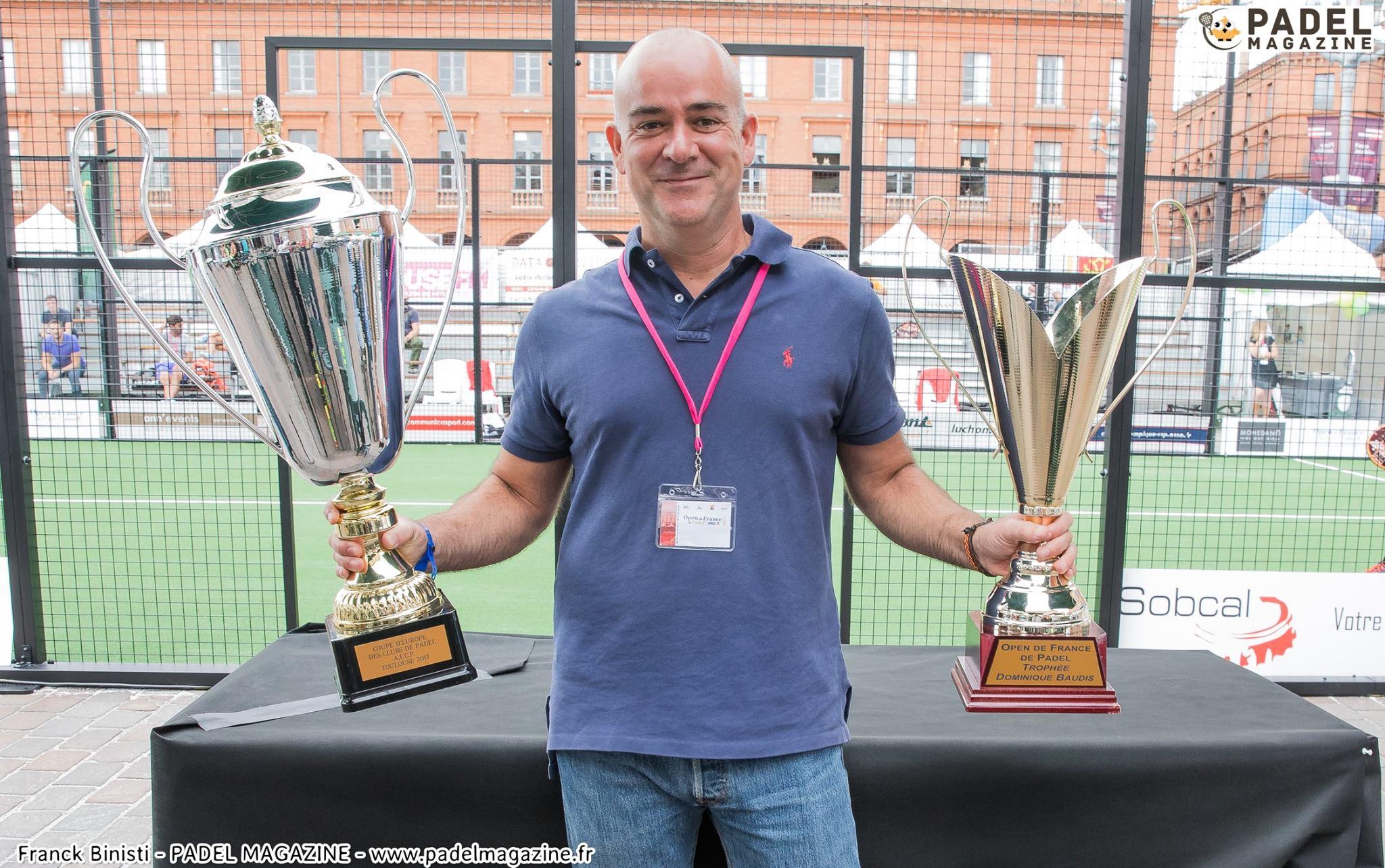Euro Padel Va néixer la Copa: la 1a Copa d'Europa per a clubs padel