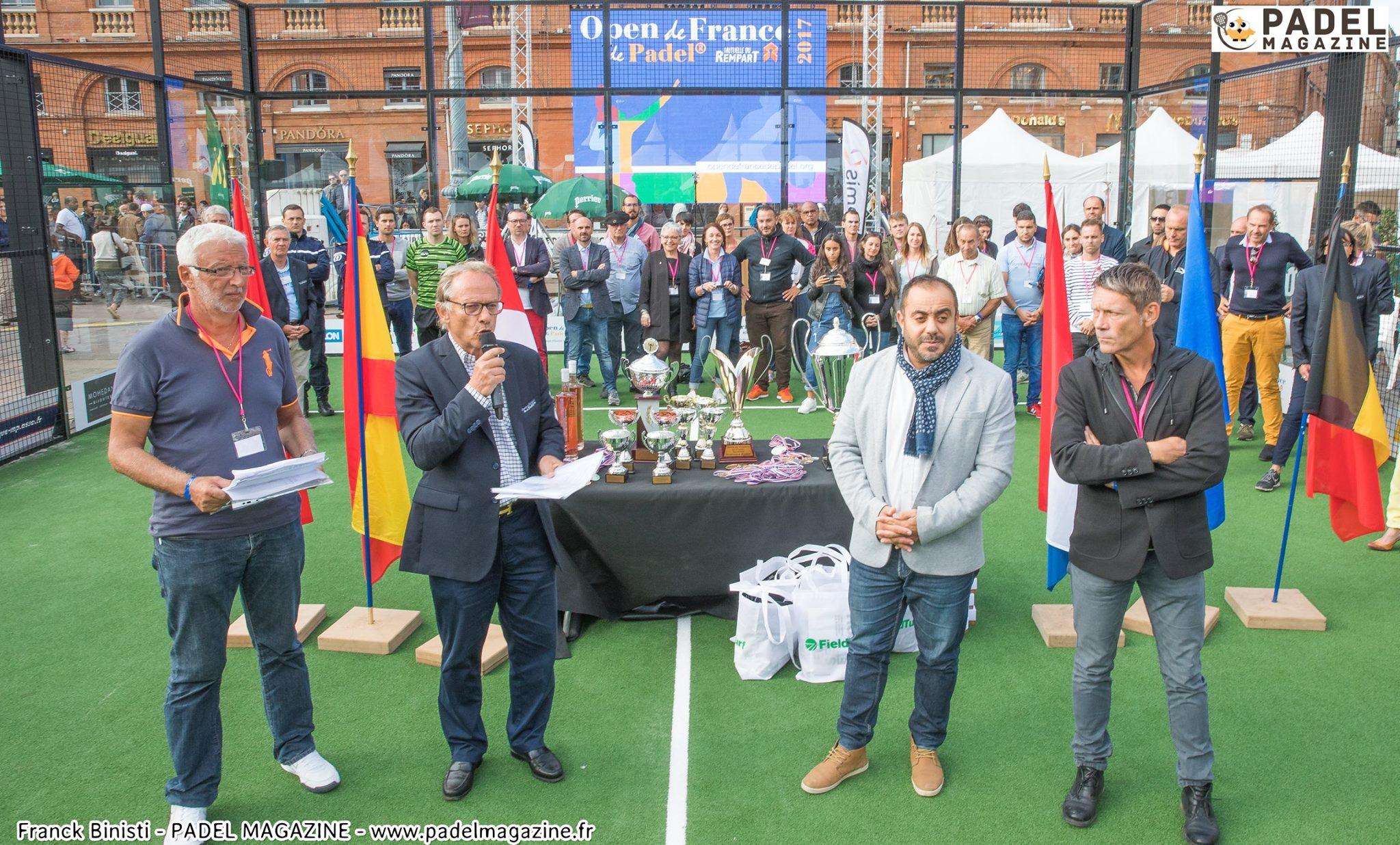Gli Open di Francia di Padel offrirà diverse fasi nel 2019