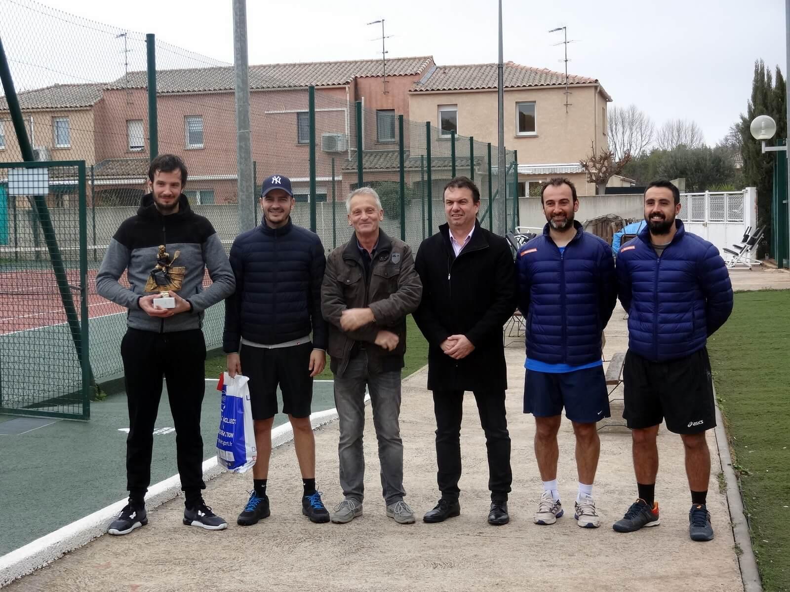 ARNAUD / VERGE remporte l'Open de la Raquette Melgorienne