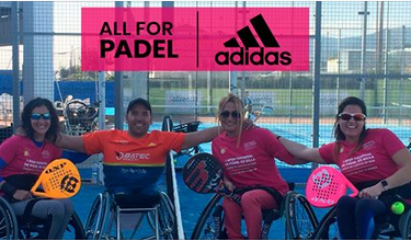Le padel in a wheelchair continues its development