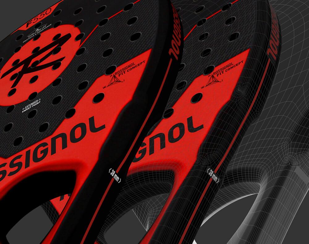 Focus sur la Rossignol Padel F550
