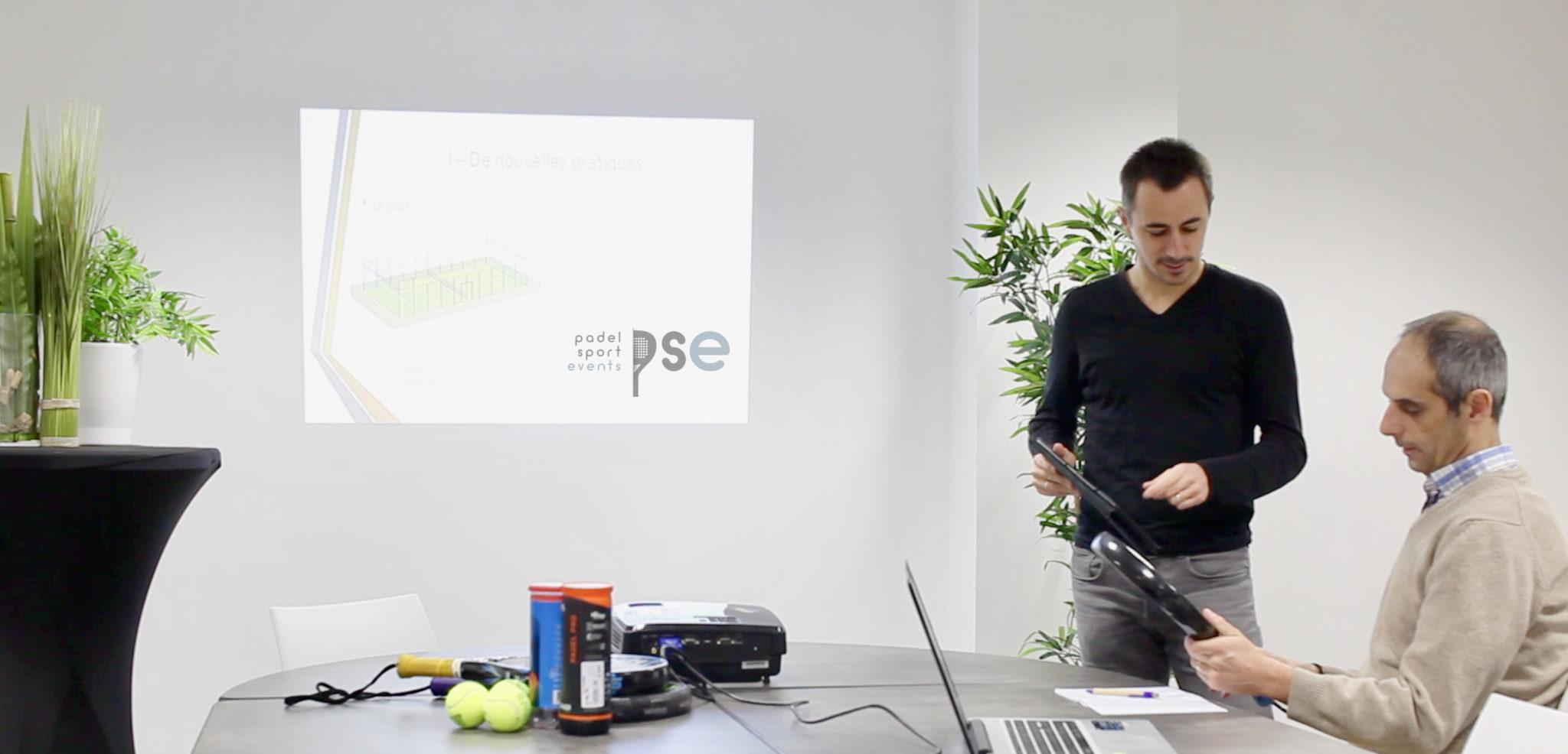 """PSE : l'agence qui accompagne les clubs de tennis dans leur projet """"padel"""""""