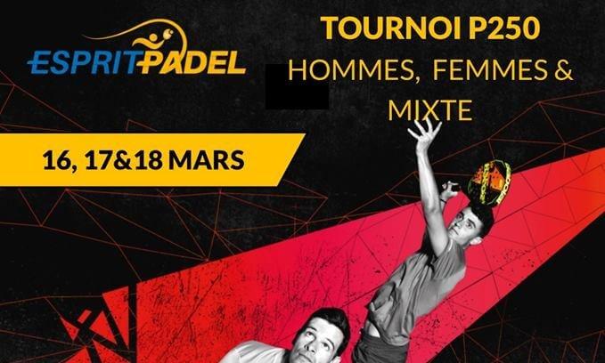 Esprit Padel lance son premier tournoi homologué