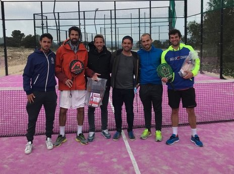 Ritz / Ferrandez et Nadal / Franc à l'Open Work and Padel
