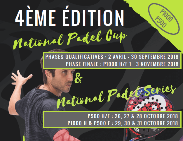 La National Padel Series : 6 tournois en 1 semaine