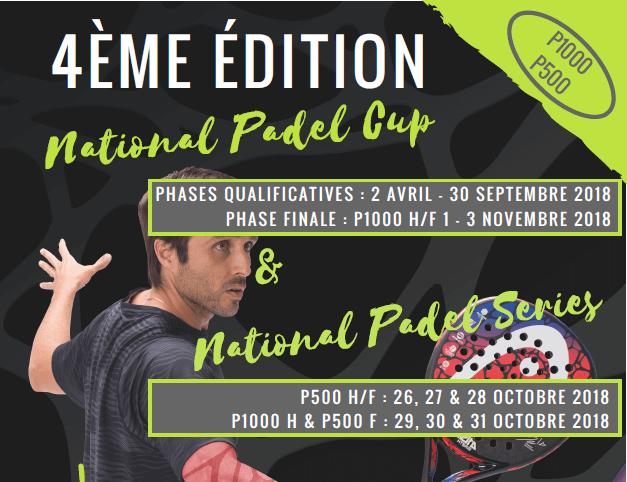 Den nationella Padel Serie: 6 turneringar på en vecka