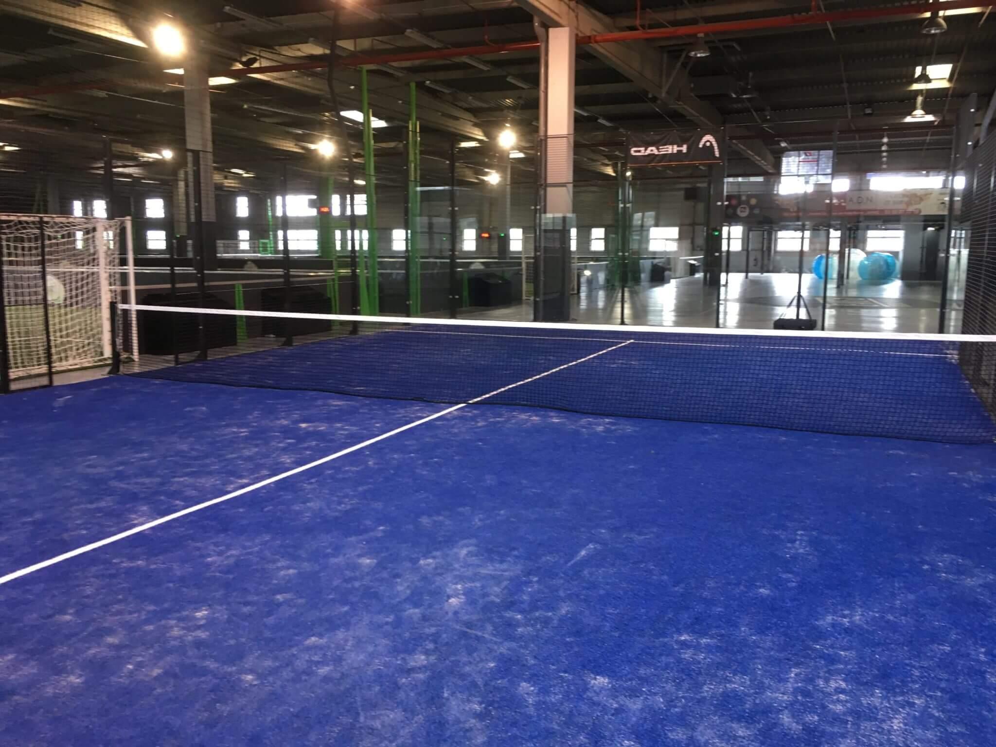 Team 5 Amiens tilbyder 2 baner i padel indendørs
